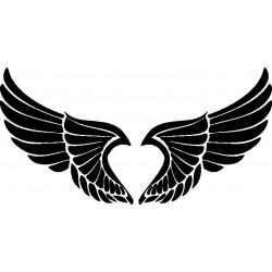 Autoaufkleber: Flügel 21 Cardesign, Autoaufkleber