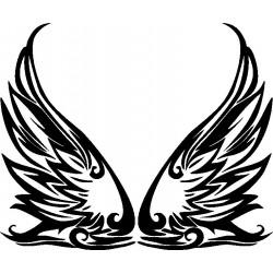Autoaufkleber: Flügel 24 Cardesign, Autoaufkleber