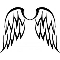 Autoaufkleber: Wings Autoaufkleber 9 Cardesign, Autoaufkleber