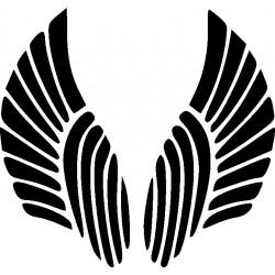 Autoaufkleber: Wings 12 Cardesign, Autoaufkleber