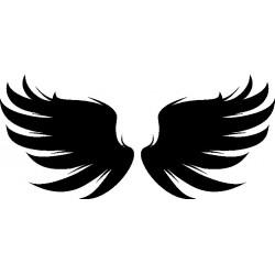 Autoaufkleber: Wings 13 Cardesign, Autoaufkleber