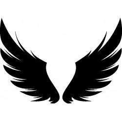 Autoaufkleber: Wings 14 Cardesign, Autoaufkleber