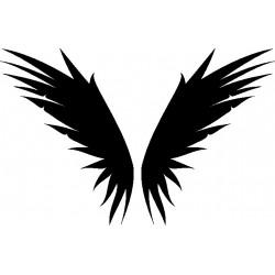 Autoaufkleber: Wings 15 Cardesign, Autoaufkleber