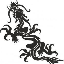 Drachen Aufkleber 2