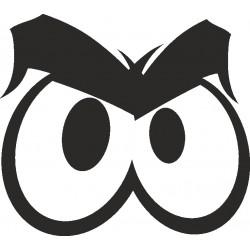 Auge - Aufkleber 9
