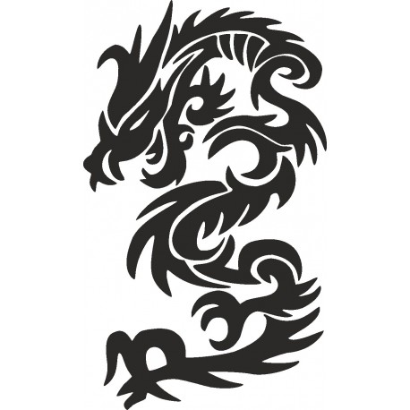 Aufkleber: Drachen Wandaufkleber 5