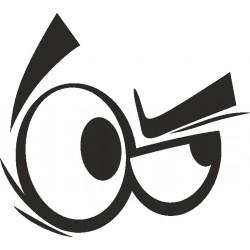 Auge - Aufkleber 8