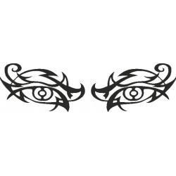 Auge - Aufkleber 190