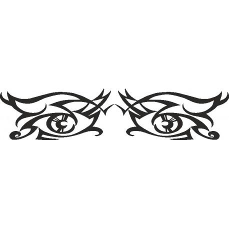 Aufkleber: Eye - Sticker 187