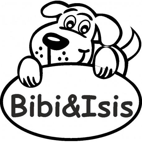 Aufkleber: Hundeaufleber mit Namen