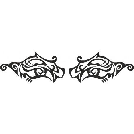 Aufkleber: Eye - Sticker 191