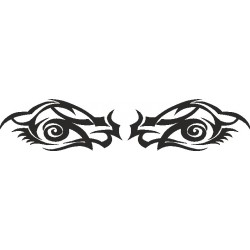 Auge - Aufkleber 192