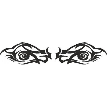 Aufkleber: Eye - Sticker 192