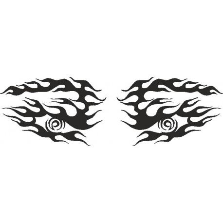 Aufkleber: Eye - Sticker 196