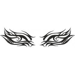 Autoaufkleber: Eye - Sticker 197 Aufkleber für die Heckscheibe Auge