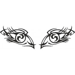 Auge - Aufkleber 210
