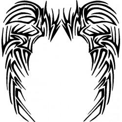 Flügel 9 Aufkleber