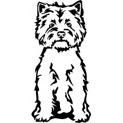 Russel Terrier Aufkleber