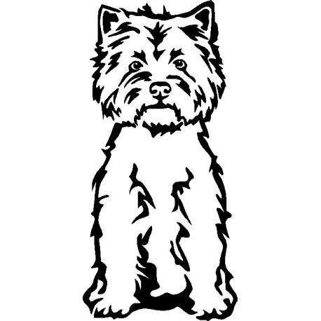 Aufkleber: Russel Terrier Aufkleber