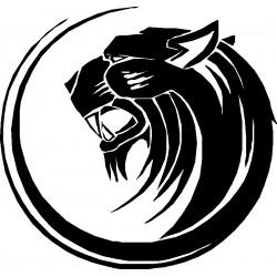Autoaufkleber: Panther 122 Aufkleber Auto, Beschriftungen selber gestalten