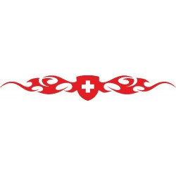 Autoaufkleber: Heckscheibenaufkleber Schweiz 2 Heckscheiben Aufkleber 28