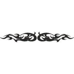 Autoaufkleber: Heckscheiben Tattoo 184 Heckscheiben Aufkleber 28