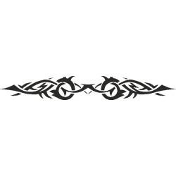 Autoaufkleber: Heckscheiben Tattoo 408 Heckscheiben Aufkleber 28
