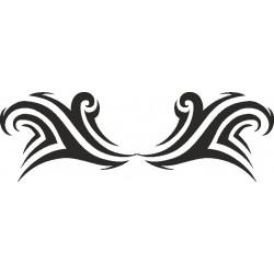 Autoaufkleber: Heckscheiben Tribal 10 Heckscheiben Aufkleber 28