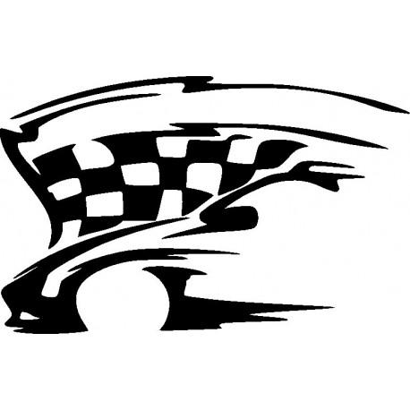 Aufkleber: Autorennen Aufkleber 5