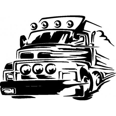 Aufkleber: Autorennen Aufkleber 11