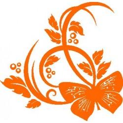 Autoaufkleber: Wall Sticker Flower 4 Wandaufkleber Blume 4