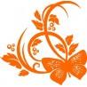 Wandaufkleber Blume 4