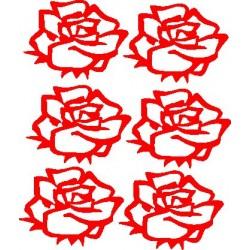 Blumen Rosen zum selbergestalten