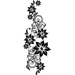 Blume Aufkleber 21