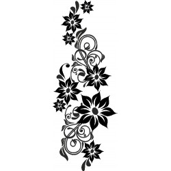 Autoaufkleber: Wall Sticker Flower 4 Wall Sticker Flower 4
