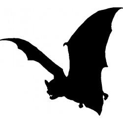 Fledermaus Aufkleber 4