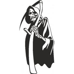 Skull Gothik Aufkleber