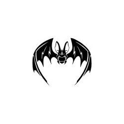 Autoaufkleber: Wandblumen Set to make your own Gothik Totenkopf 14 Aufkleber