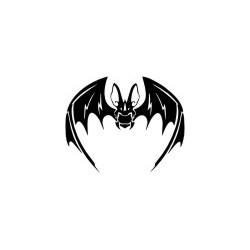 Gothik Totenkopf 18 Aufkleber
