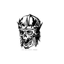 Autoaufkleber: Gothik Totenkopf 24 Aufkleber Gothik Totenkopf 14 Aufkleber