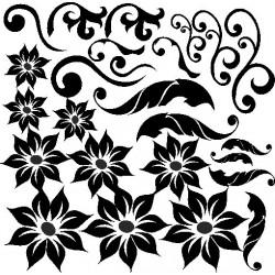 Autoaufkleber: Create flowers Stickers yourself 1 Blumen Aufkleber selber gestalten 1