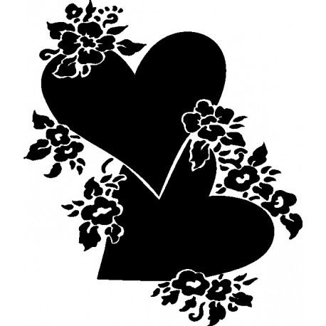 Aufkleber: Herz 42