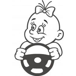 Autoaufkleber: Babyaufkleber 40 Autoaufkleber, Autodesign, Aufkleber selber gestalten