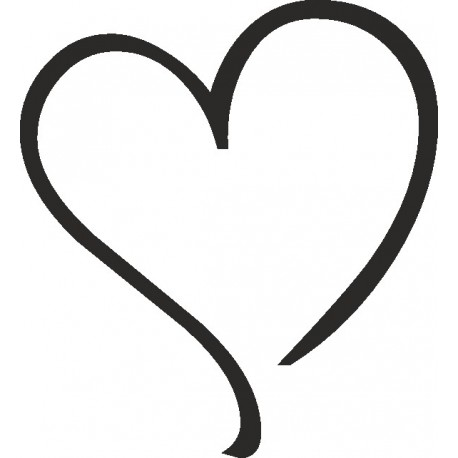 Aufkleber: Herz  04