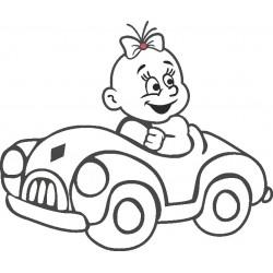 Autoaufkleber: Babyaufkleber 31 Autoaufkleber, Autodesign, Aufkleber selber gestalten