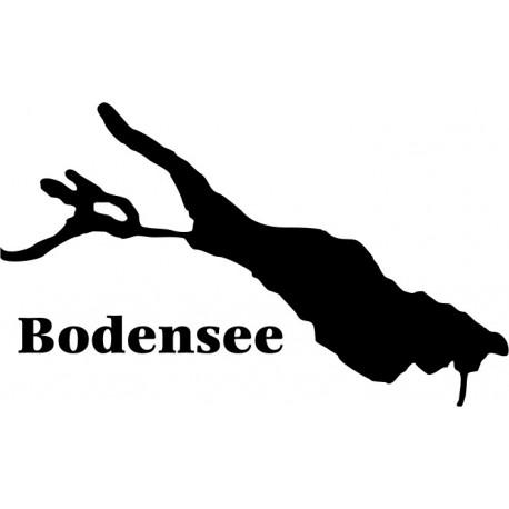 Aufkleber: Bodensee