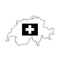 Umriss Schweiz