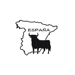 aufkleber autoaufkleber fl�gel, wolf, hund, babyaufkleber Aufkleber Spanien