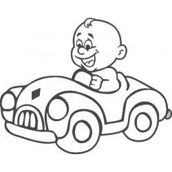 Autoaufkleber: Babyaufkleber 26 Autoaufkleber, Autodesign, Aufkleber selber gestalten