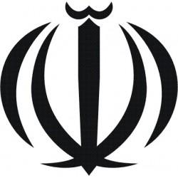 Aufkleber Wappen Iran